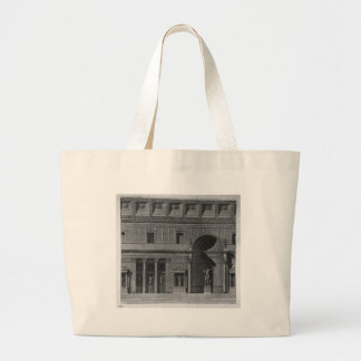 Demonstration of a part of the interior jumbo tote bag