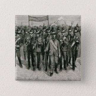 Demonstration on Mr. Parnell's Estate 15 Cm Square Badge