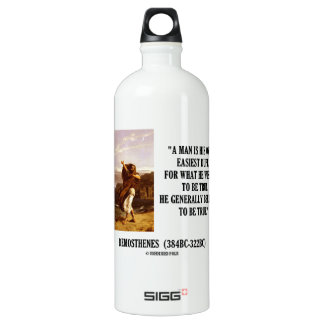 Demosthenes Own Easiest Dupe Wishes To Be True SIGG Traveller 1.0L Water Bottle