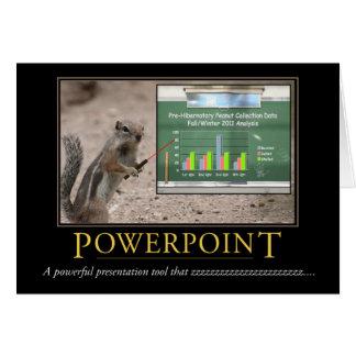 Demotivational Card: Powerpoint