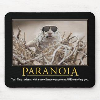 Demotivational Mousepad: Paranoia Mouse Mat