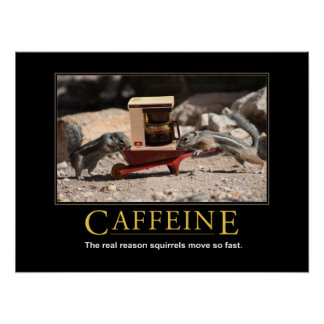 Demotivational Poster: Caffeine Poster