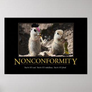 Demotivational Poster: Nonconformity