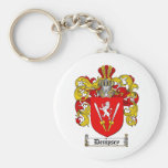 DEMPSEY FAMILY CREST -  DEMPSEY COAT OF ARMS KEYCHAIN
