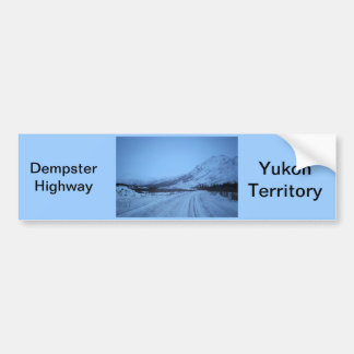 Dempster Highway Bumper Sticker