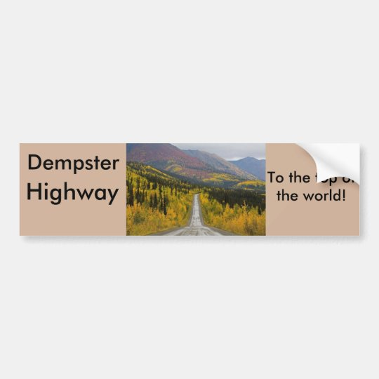 Dempster Highway To the top of the world