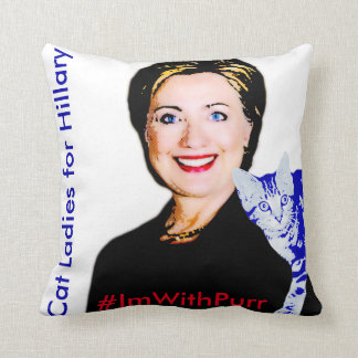 Dems Don't Throw This Election Pillow #ImWithPurr