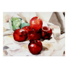 Demuth - Apples and Green Glass Poster