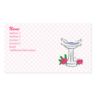 Den & Deen Doves Pack Of Standard Business Cards