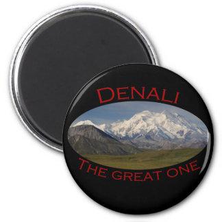Denali 6 Cm Round Magnet