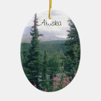 Denali, Alaska Christmas Ornament
