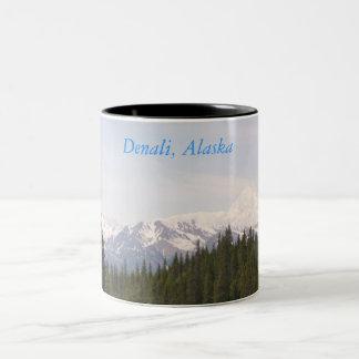 Denali, Denali, Alaska Two-Tone Coffee Mug