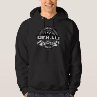 Denali Grey  Logo for Dark Hooded Sweatshirts