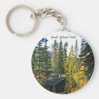 Denali National Park, Alaska Key Ring