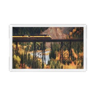 Denali National Park and Preserve USA Alaska Acrylic Tray
