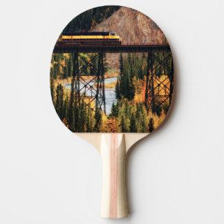 Denali National Park and Preserve USA Alaska Ping Pong Paddle