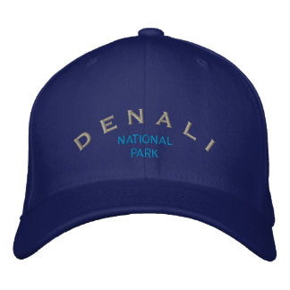 Denali National Park Embroidered Baseball Caps