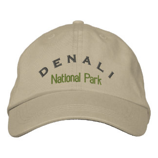 Denali National Park Embroidered Cap