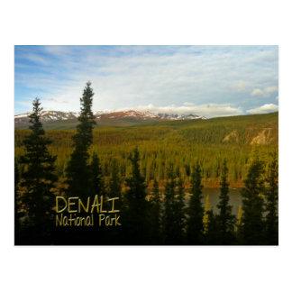 Denali National Park in Alaska Post Cards