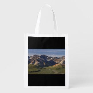 Denali National Park Reusable Grocery Bag