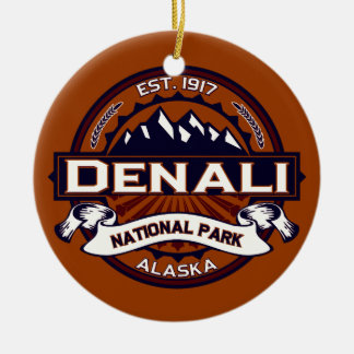 Denali Vibrant Christmas Ornament
