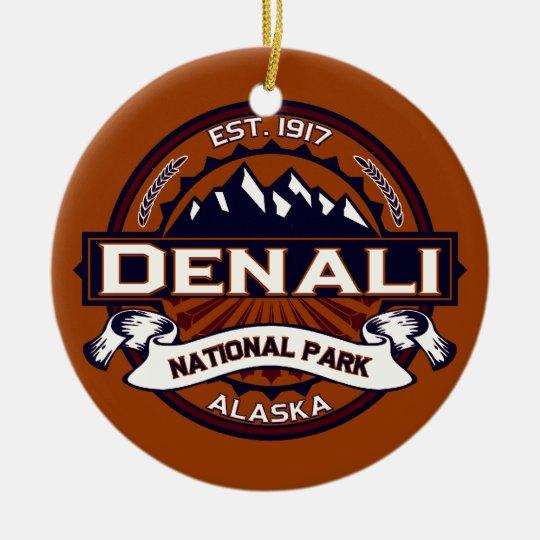 Denali Vibrant Christmas Ornament