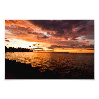 Denarau Island Sunset, Fiji 2 Photo Print