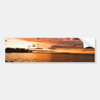 Denaru Island Sunset, Fiji Bumper Sticker