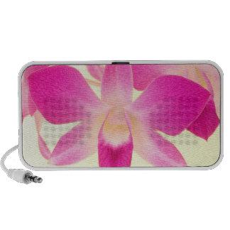 Dendrobium Orchid. 2 Portable Speakers