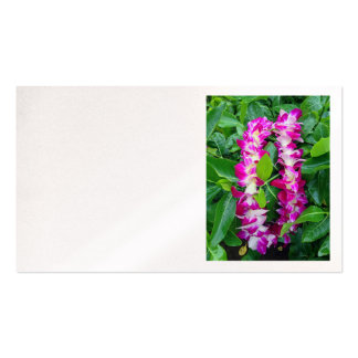Dendrobium Orchid Lei Pack Of Standard Business Cards