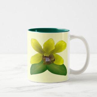 Dendrobium Orchid Two-Tone Mug