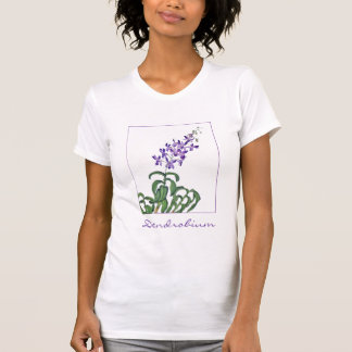 Dendrobium Orchid Spray T-shirt