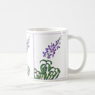 Dendrobium Orchid Sprays Basic White Mug