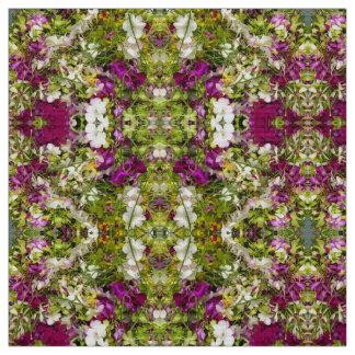 Dendrobium Orchids Fabric