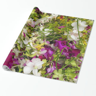 Dendrobium Orchids Wrapping Paper