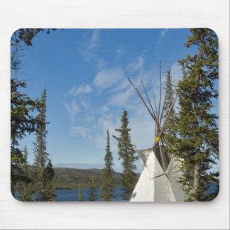 Dene Tribe gathering, Northwest Territories, Mouse Pad