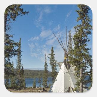 Dene Tribe gathering, Northwest Territories, Stickers