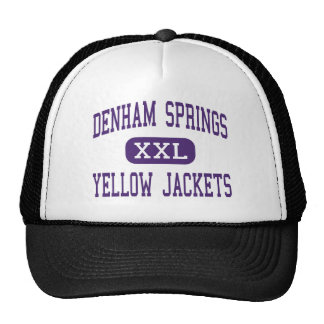 Denham Springs - Yellow Jackets - Denham Cap