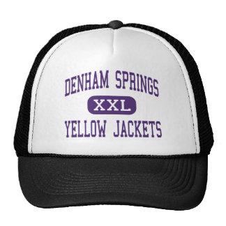 Denham Springs - Yellow Jackets - Denham Mesh Hats