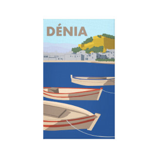 Denia Canvas Print