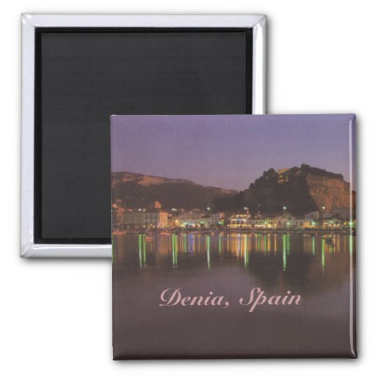 Denia Spain Travel Photo Souvenir Fridge Magnets