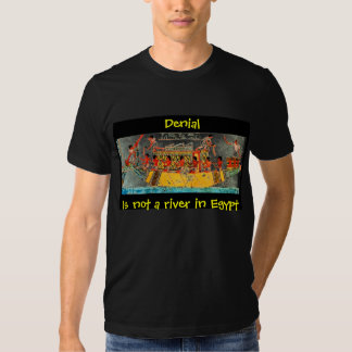 Denial Is not a river in Egypt T Shirt