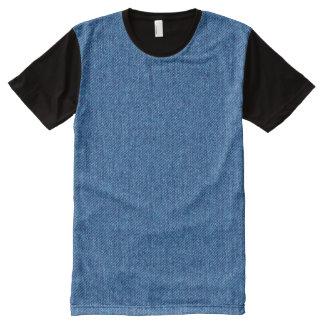 Denim All-Over Print T-Shirt