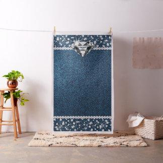 Denim and Diamond Photo Backdrop Photo Booth Fabric