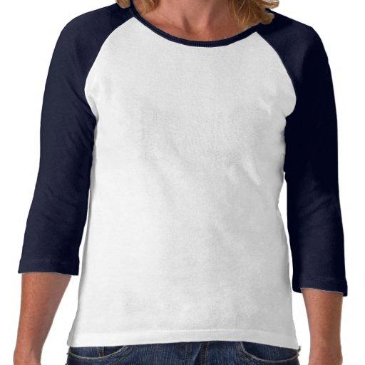 """""""Denim"""" Blossoms Tee Shirt"""