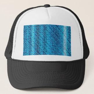 Denim Blue Background Trucker Hat
