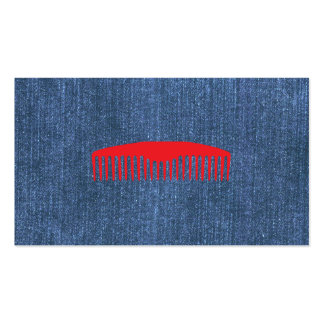 Denim Blues Double-Sided Standard Business Cards (Pack Of 100)