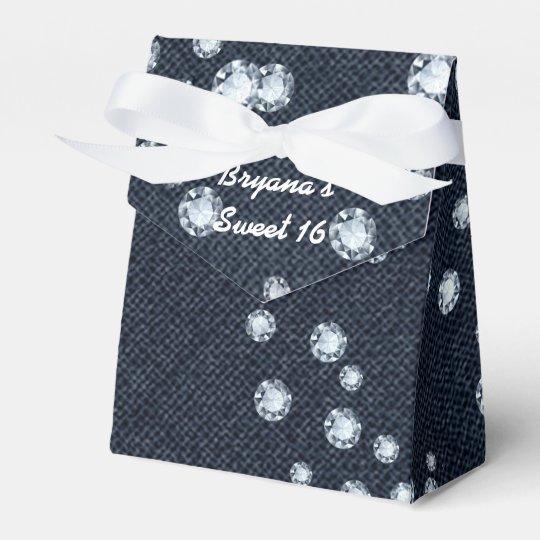 Denim & Diamonds Birthday Party Favour Boxes