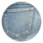 Denim Jeans Pocket Blue Fabric style fashion rich Plate