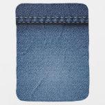 Denim Jeans Texture Baby Blanket